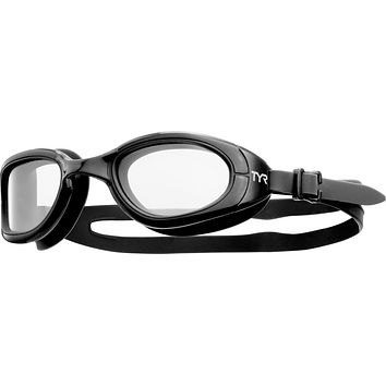 Tyr - Special Ops 2.0 Transition Black Swim Goggles / Clear Lenses