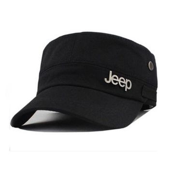 ONETOW Perfect Jeep Women Men Flat Cap Sun Peaked Cap Leisure Hat