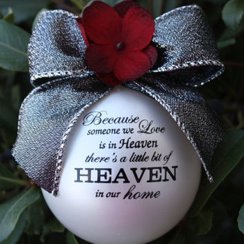 Because Someone We Love is in Heaven Christmas by layniebugdesign
