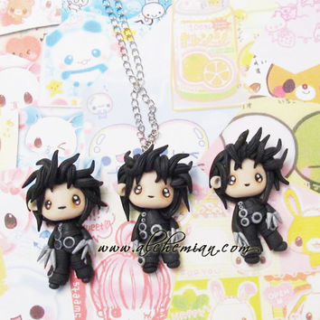 Edward scissorhands tim burton inspired Johnny Depp necklace