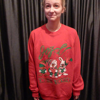 Joy to the world ugly christmas sweater