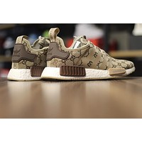Gucci x Adidas NMD R1 Boost Men Women Running Sneaker