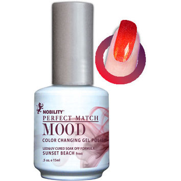 LeChat Perfect Match Mood Gel - Sunset Beach 0.5 oz - #MPMG08