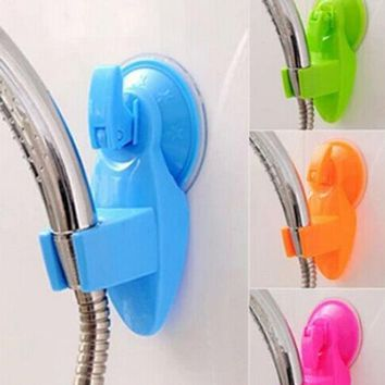 DCCKL72 High Quality Suction Cup Bathroom Shower Holder Hanger Home Kitchen Storage Mop Broom Organizer Rack