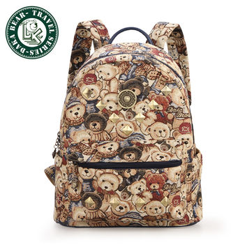 Womens Backpacks Travel Bag School Bag High Quality Bag Designer Patchwork Bag
