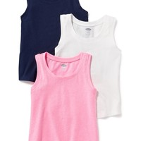 3-Pack Jersey Tank for Toddler | Old Navy