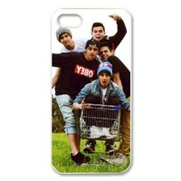 The Janoskians Custom Case for iPhone 5, VICustom iPhone Protective Cover(Black&White) - Retail Packaging