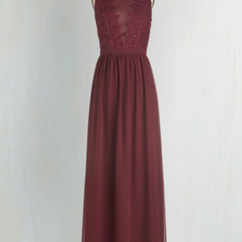 Long Sleeveless Maxi Elegance Again Dress