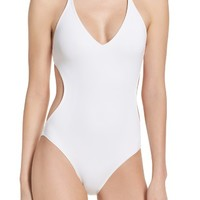 Vince Camuto Plunge One-Piece Swimsuit | Nordstrom