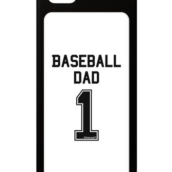 Baseball Dad Jersey iPhone 5 / 5S Grip Case  by TooLoud