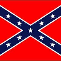 8 X 5ft LARGE Confederate/Rebel Heavyweight Polyester Flag - FREE USA SHIPPING