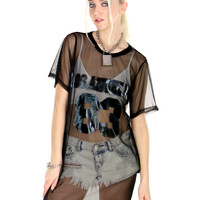 CITY OF ANGELS SHEER TEE