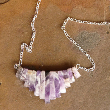essential oil diffuser necklace, diffuser jewelry, amethyst stone necklace