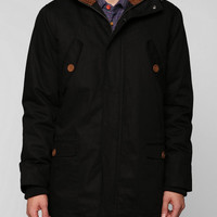 Urban Outfitters Black Wesc Bength Fishtail Parka