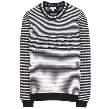 kenzo - cotton-blend sweater