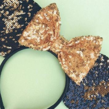 Black & Gold Ears