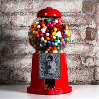 American Gumball: Tall Red Gumball Machine, at 30% off!