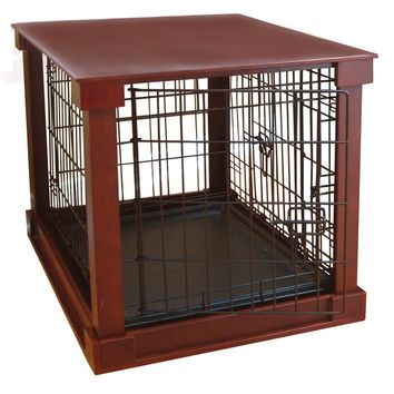 Merry Products Cage with Crate Cover and Plastic Tray - Small