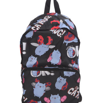 Cartoon Hangover Bravest Warriors Catbug Packable Backpack
