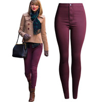 Women Skinny Pencil Jeans