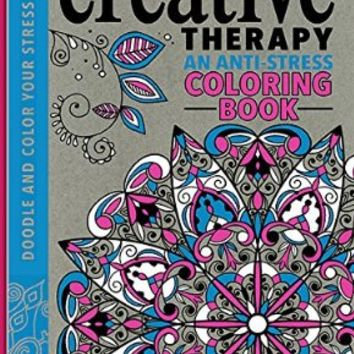 Creative Therapy An Anti Stress Coloring From Amazon