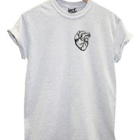 Heart Organ T Shirt