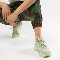 Puma Thunder Desert Green Sneakers at asos.com