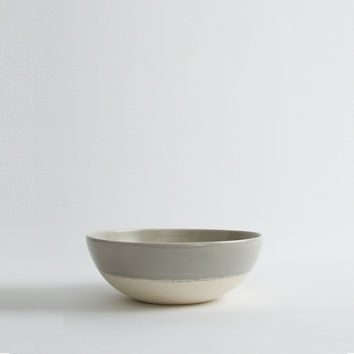 Stoneware Cereal Bowl (Grey)
