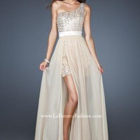 La Femme Dress 18945 at Peaches Boutique