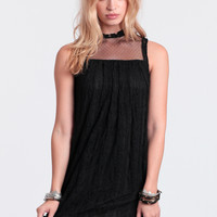Darkest Night Lace Dress