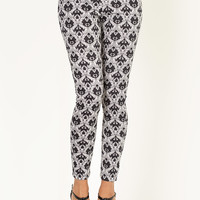 Queen of Style Medallion Patterned Pant