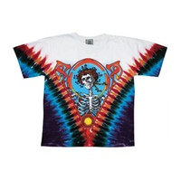 Grateful Dead Men's  Bertha Tie Dye T-shirt Multi