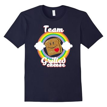 Team Grilled Cheese funny Cheese sandwich lover T-Shirt