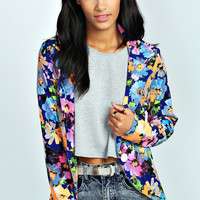 Adrianne All Over Floral Blazer
