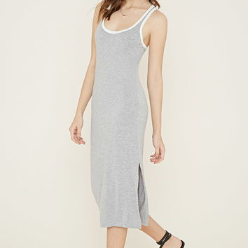 Contrast-Trimmed Bodycon Dress | Forever 21 - 2000185977
