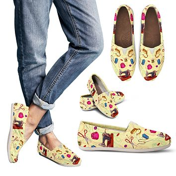 Sewing Lovers Casual Shoes-Clearance