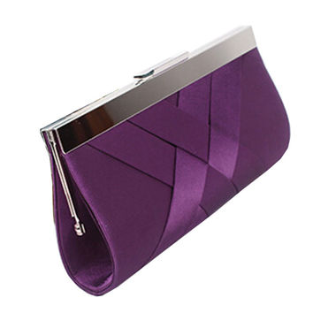 Clutch Purse Chain Handbags Women Evening Bag Purple Bride Wedding Party Purse Clutch