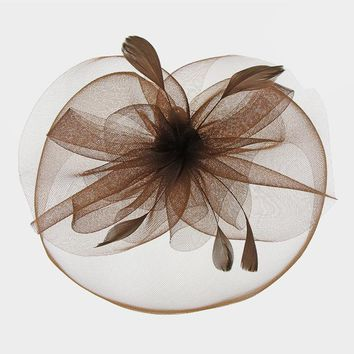 Feather & Bows Fancy Feather Fascinator