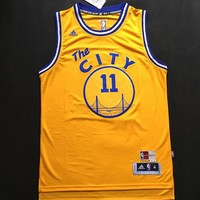 Klay Thompson Golden State Warriors #11 Jersey Gold Sizes S - 2XL All Stitched