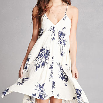 Floral Crescent Cami Dress