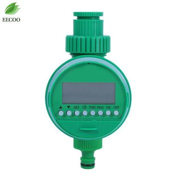ONETOW LCD Display Automatic Intelligent Electronic Garden Water Timer Rubber Irrigation Sprinkler Control Gasket Design Watering Timer