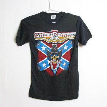 80s Vintage LYNYRD SKYNYRD T shirt // Deadstock // Never been worn // Band shirt Size Small
