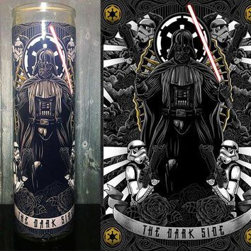 Star wars, Star Wars Rogue One, Darth Vader, Jedi,  Prayer Candle, Gift Idea, Darth Vader Helmet, Gifts for Him, Best Scented Candles, Sith