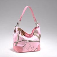 Emperia Women's Boho Bag with Luxury Hardware Rings, Realtree Pink,Pink, Medium