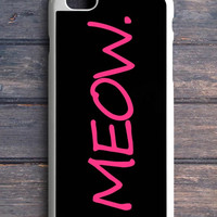 Cute Cat Meow iPhone 5C Case