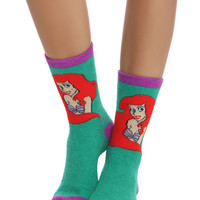 Disney The Little Mermaid Plush Cozy Socks