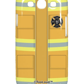 Firefighter Yellow AOP Samsung Galaxy S3 Plastic Case All Over Print