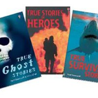 Usborne Books & More. True Stories Library Collection (3)