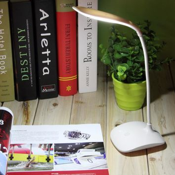New High Quality Adjustable USB Rechargeable Touch Sensor LED Reading Light Desk Table Lamp Super Bright Hot Selling