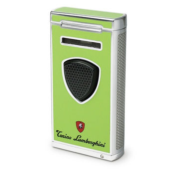 Tonino Lamborghini Pergusa Green Torch Flame Lighter